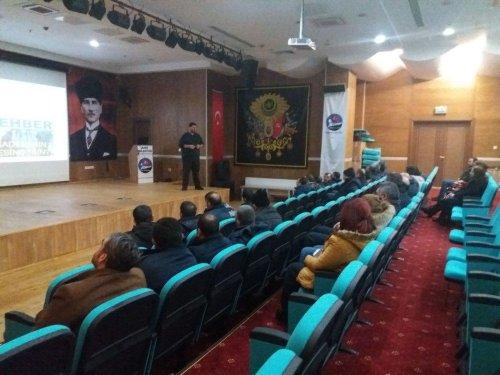 Belediye Personeline 'Narkorehber' Eğitimi