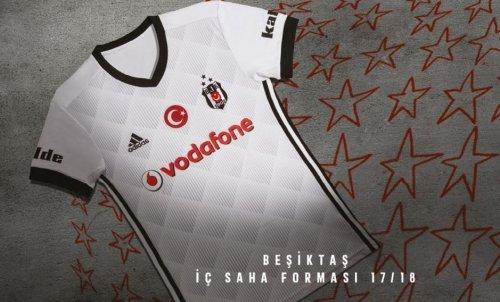 Beşiktaş, 3 Yıldızlı Formayı Tanıttı