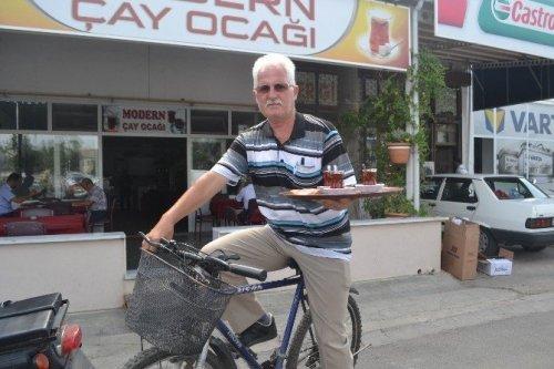Bisikletli Çay Servisi