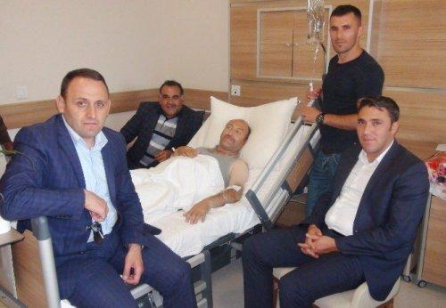 Çapanoğlu'na Geçmiş Olsun Ziyareti