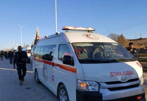 Doğu Halep'ten İlk Konvoyla 951 Kişi Ayrıldı