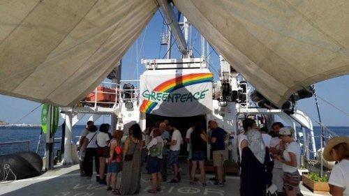 Efsane Gemi Bozcaada'ya Demir Attı