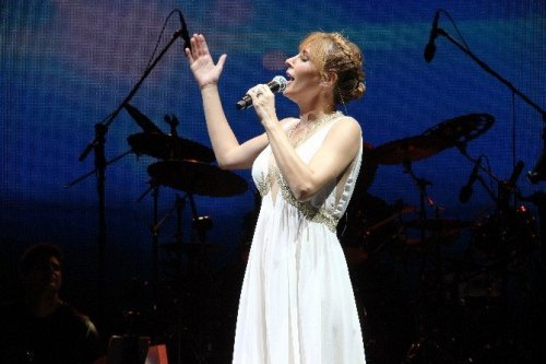 Funda Arar Bodrum'da Konser Verdi