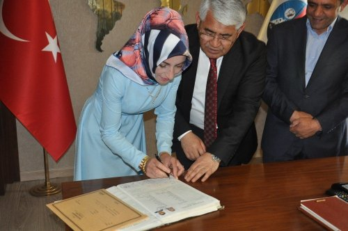 Gazeteci Tacettin Durmuş'un Mutlu Günü