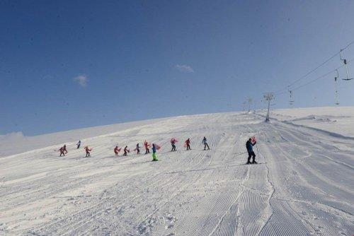 Göle Kayak Merkezine Kavuştu