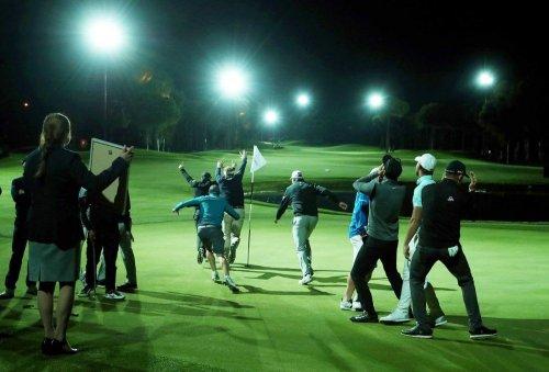 'Golf'de Guinness Dünya Rekoru Kırıldı