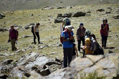 Gümüşhaneli Dağcılar Bayburt Demirkapı Zirvesi'nde