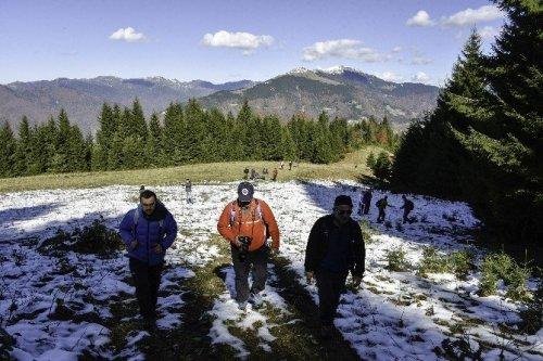 Gümüşhaneli Dağcılardan En Güzel Sonbahar Yürüyüşü