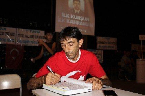 Iğdır'da Demokrasi Nöbeti