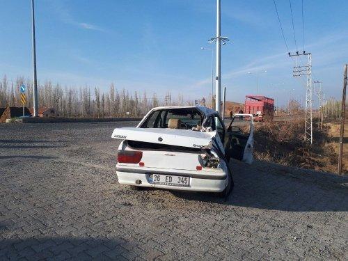 Iğdır'da Trafik Kazası: 1 Ölü, 2 Yaralı
