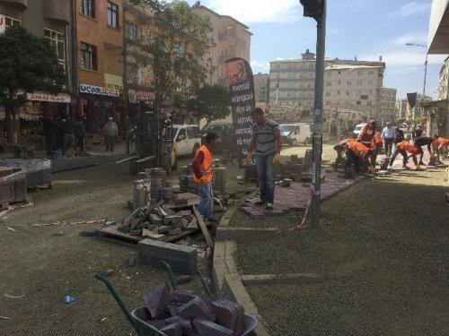 Iğdır'da Yol Yapım Çalışması