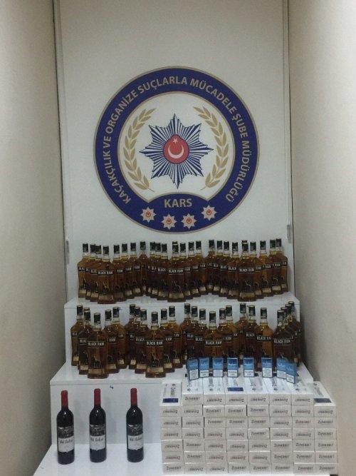 Kaçak İçki ve Sigara Operasyonu