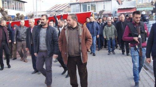 Kağızman'a Protesto Yürüyüşü