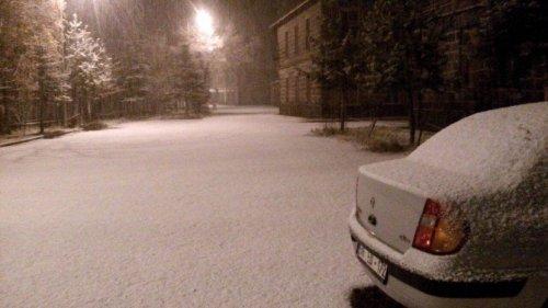 Kar, Kars'a Tipiyle Geldi