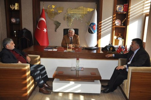 Karaçanta, Oda Başkanlarıyla Bir Araya Geldi