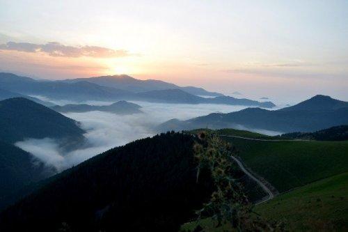 Karadeniz'in Bulut Denizi Ve Dağ Adacıkları Görenleri Büyülüyor