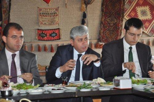 Kars Kalesi'nde Kahvaltılı Basın Toplantısı