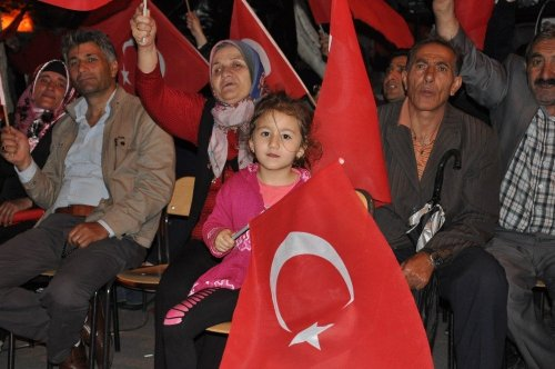 Kars'ta 15 Temmuz Demokrasi Nöbeti