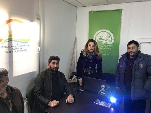 Kars'ta 2018 Yılı Çiftçi Eğitimleri Başladı