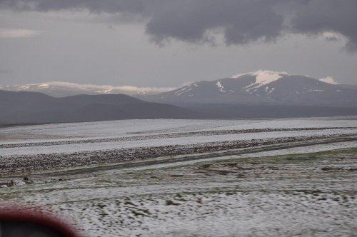 Kars'ta Dolu Yağışı