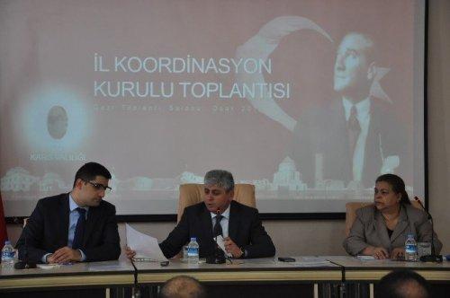 Kars'ta İl Koordinasyon Kurulu Toplantısı Yapıldı