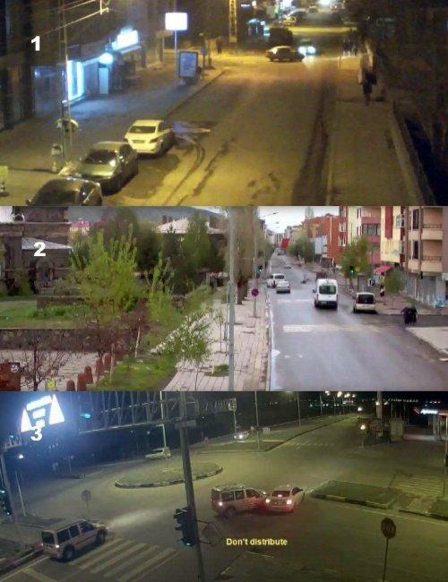 Kars'ta ki Kazalar Mobese'ye Yansıdı