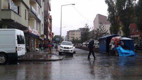 Kars'ta, Yağmur Hayatı Olumsuz Etkiledi
