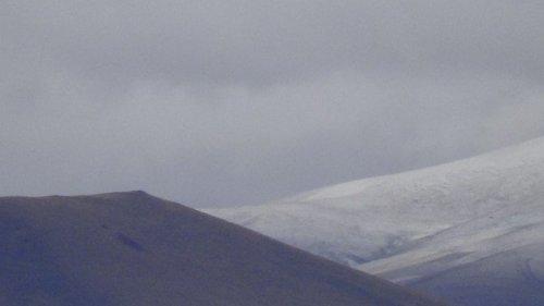 Kars'ta Yüksek Kesimlere Kar Yağdı
