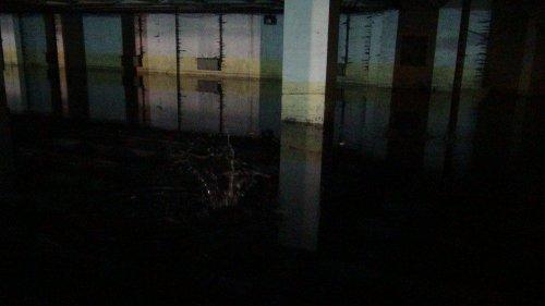 Katlı Otopark ve Garaj Sular Altında