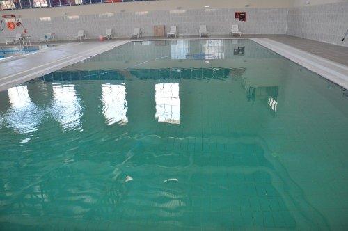 KAÜ Olimpik Yüzme Havuzu'na Kavuştu