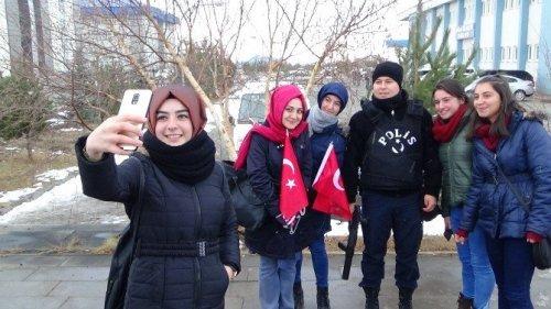 KAÜ'de 'Beşitaş Saldırısı'na Tepki