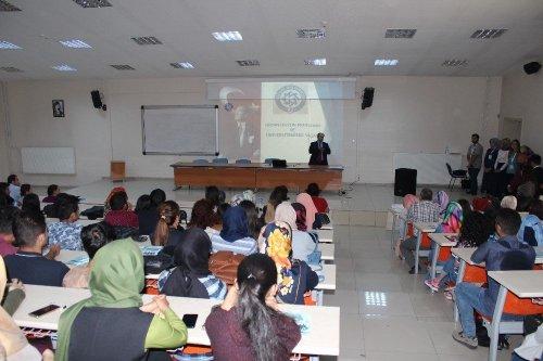 KAÜ'lü Öğrencilere Oryantasyon Programı