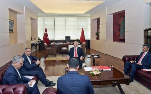 Kılıçdaroğlu, İran Büyükelçisi Fard'ı Kabul Etti