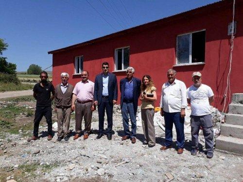 Kırçiçeği Köyü Taziye Evi İnşaatı Devam Ediyor
