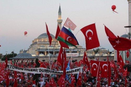 Konya'da Nöbet Sona Erdi