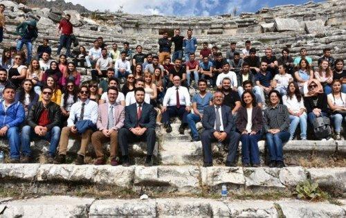 Kültürel Miras Dersini, Sagalassos Antik Kenti'nde İşlediler