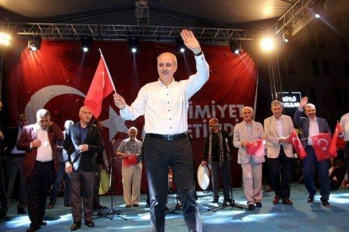 """Kurtulmuş: """"Abd Ya Meczup Ya Da 79 Milyon Türk Milleti Diyecek"""""""