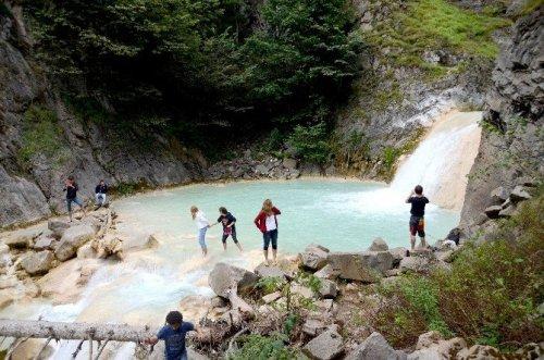 Kuzalan Şelalesi ve Mavi Göl Turizmin Yeni Gözdesi