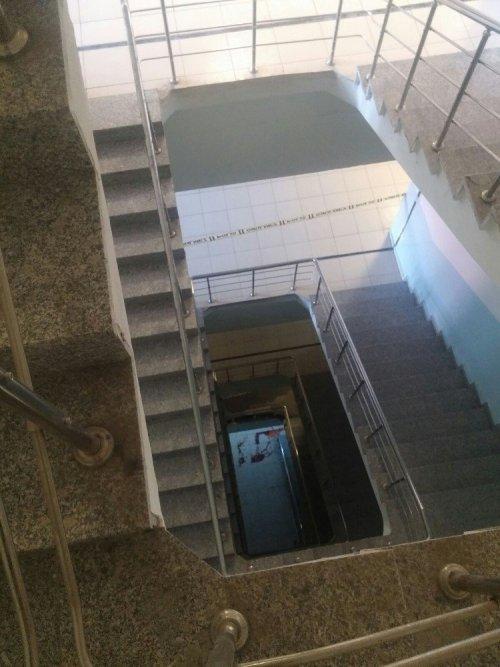 'Merdiven Boşluğu'na Düşen Hasta Öldü