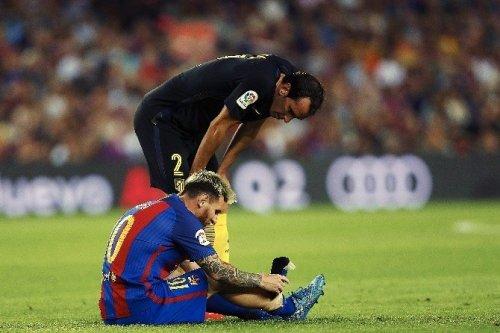 Messi Üç Hafta Yok