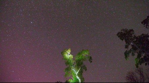Meteor Yağmuru Böyle Görüntülendi