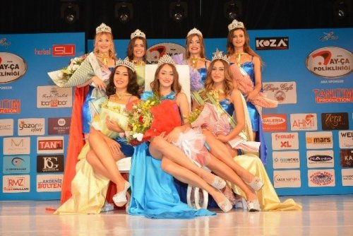 Miss Mediterranean 2016'nın Kraliçesi Ceyda Çakır Oldu
