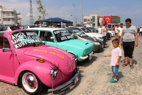 Modifiye Tutkunları Samsun'da Buluştu