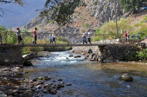 Munzur Gözeleri'ne Yerli Turist Akını