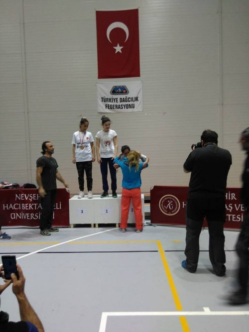 Nevşehir'den Madalyayla Döndüler
