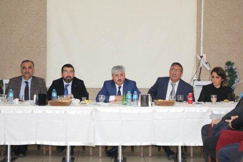 OSB'deki Firmalarla Toplantı