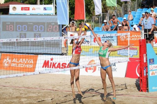 'Plaj Voleybolu'nda Şampiyon Finlandiya