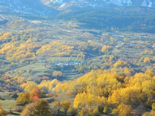 Posof'ta Kış Öncesi Renk Cümbüşü