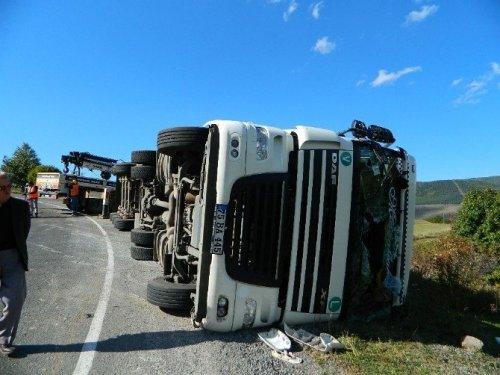 Posof'ta Trafik Kazası: 2 Yaralı