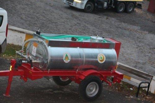 Posof'un Köylerine Yangın Söndürme Tankları Verildi